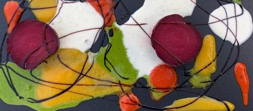 Kortárs festmények tányéron - szép és őrülten finom!